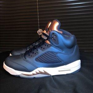 21aacd7138266 Nike Shoes - Nike Air Jordan Retro 5 (Bronze) Deadstock